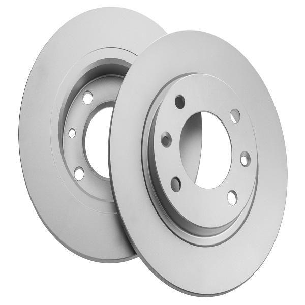 دیسک ترمز چرخ عقب ایساکو کد 0670501101 مناسب پارس ELX بسته 2 عددی