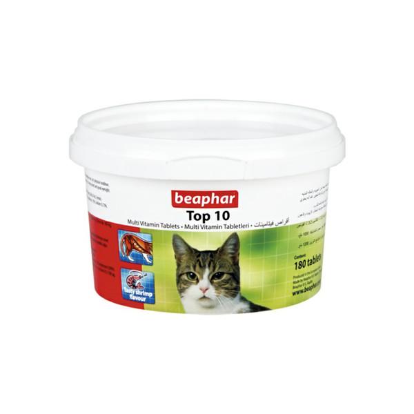 مولتی ویتامین گربه بیفار طرح تاپ تن مدل ae بسته 180 عددی