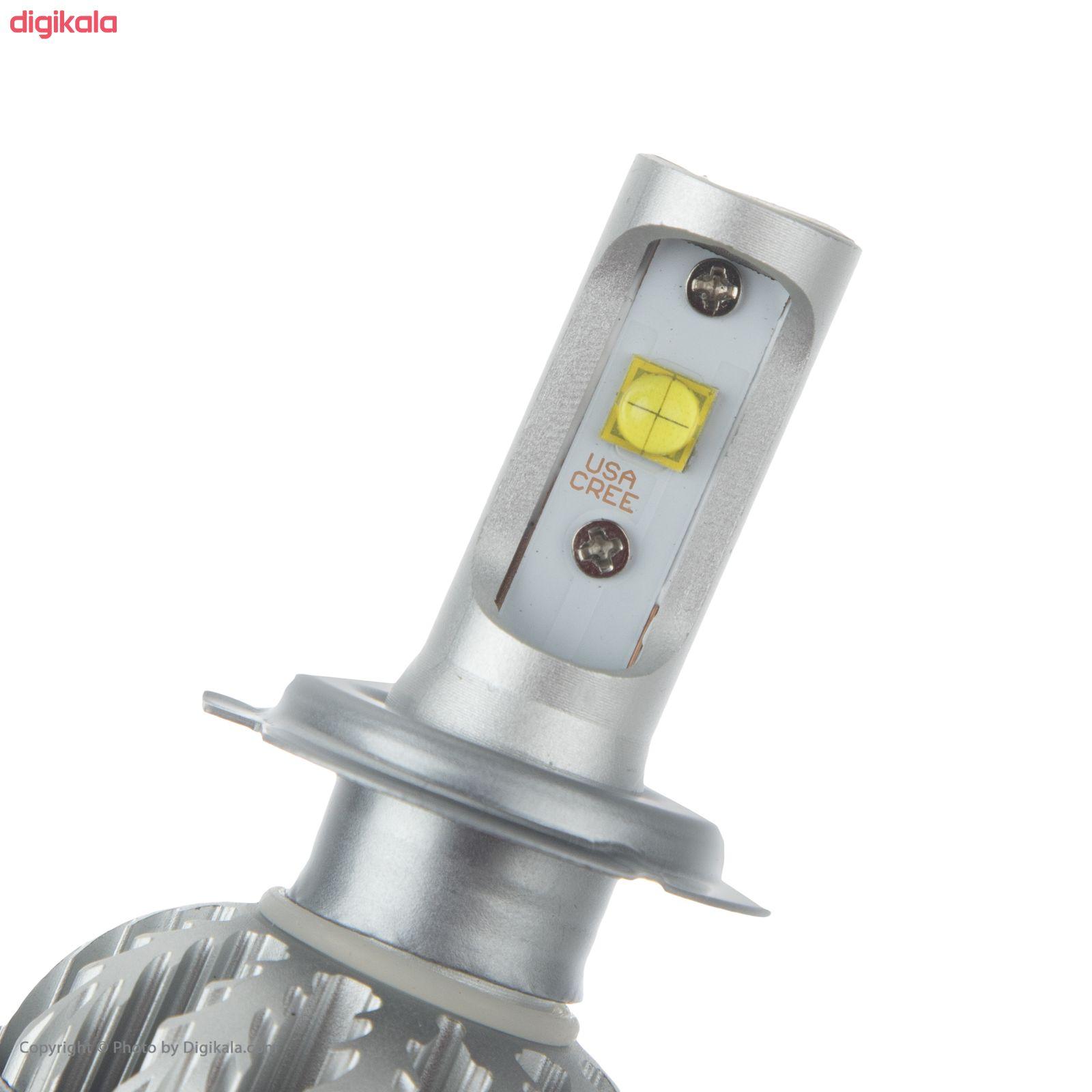 لامپ هدلایت خودرو دلفی مدل H7 بسته 2 عددی main 1 4