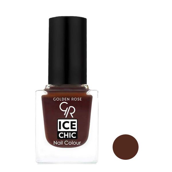 لاک ناخن گلدن رز مدل Ice Chic شماره 67