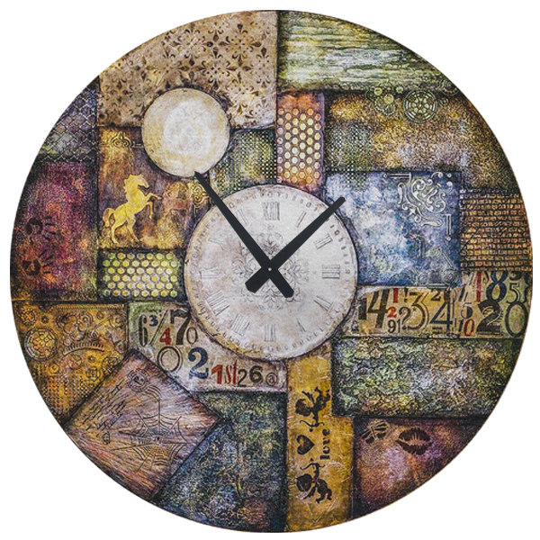 ساعت دیواری طرح آنتیک کد 1455