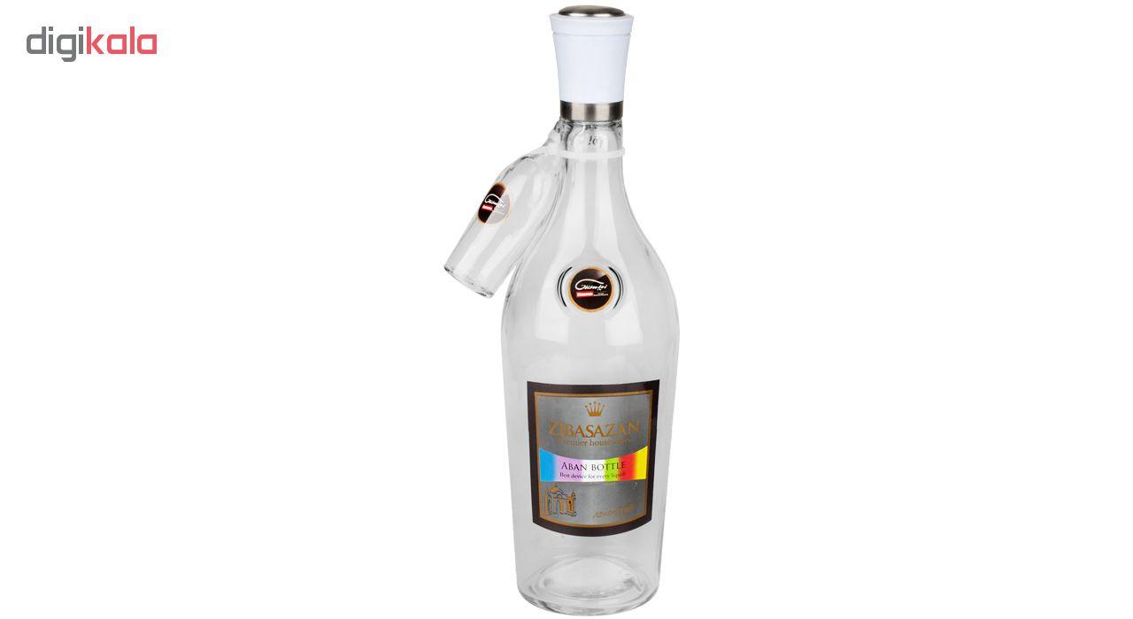 بطری آب زیبا سازان کد 605