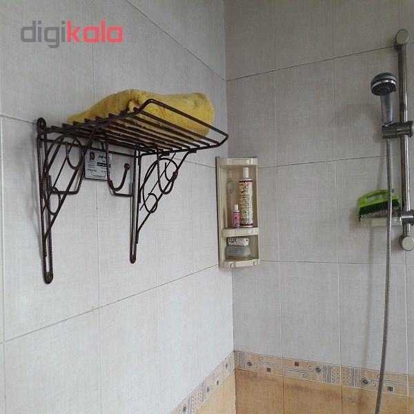 جالباسی سرویس بهداشتی و حمام توشه نگهدار مدل آسیا TGA-3050 (رنگ مسی چکشی)