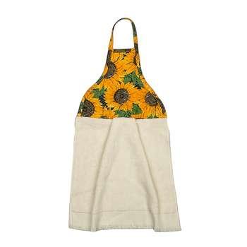 حوله آشپزخانه مدل H-sunflower سایز 30*40 سانتی متر