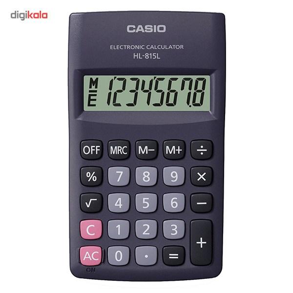 قیمت                      ماشین حساب کاسیو HL-815L WE