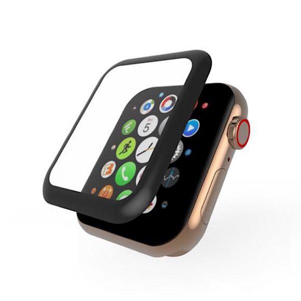 محافظ صفحه نمایش  مدل 3D Tempered مناسب برای اپل واچ سایز 40 میلی متری
