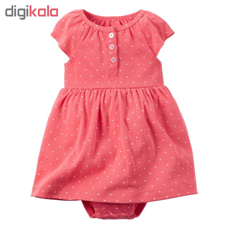ست 2 تکه لباس نوزادی دخترانه کارترز مدل 840