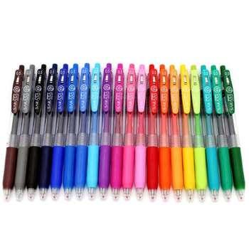 روان نویس 20 رنگ زبرا مدل SARASA CLIP  با قطر نوشتاری 0.5 میلی متر |