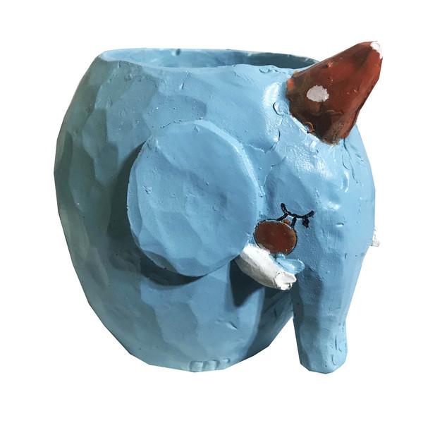 گلدان فانتزی طرح فیل کد irsa-036