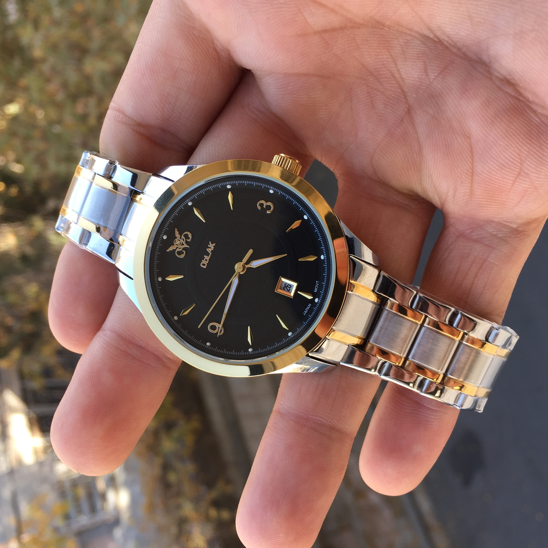 ساعت مچی عقربهای مردانه اوبلاک مدل 72700