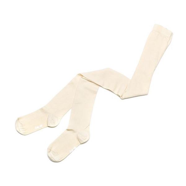 جوراب شلواری بچگانه کنته کیدز کد Cream 4C-04