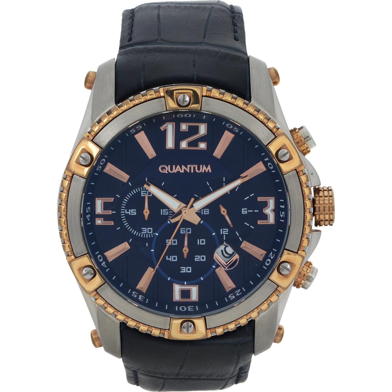 ساعت مچی عقربه ای مردانه کوانتوم مدل PWG377.599 28