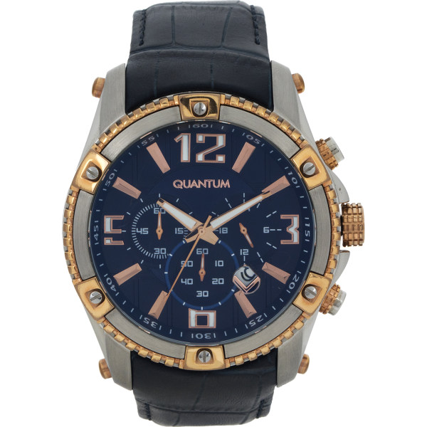 ساعت مچی عقربه ای مردانه کوانتوم مدل PWG377.599