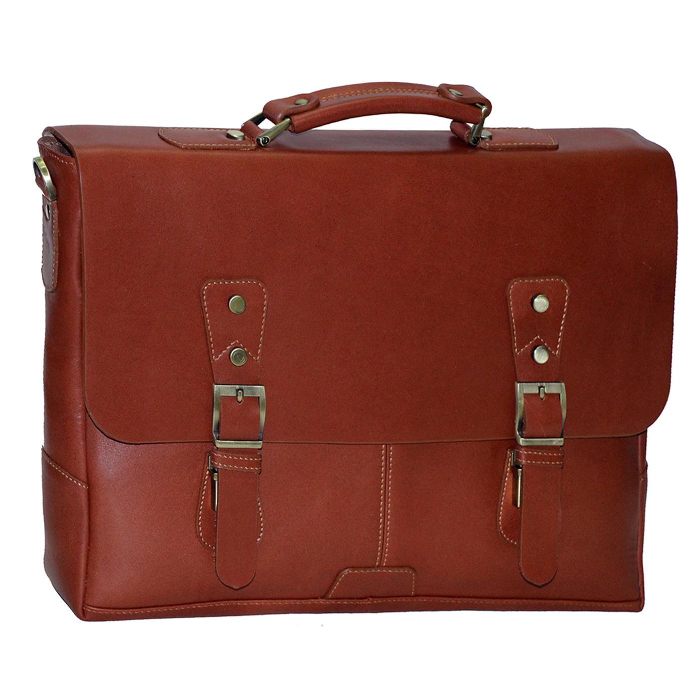 قیمت کیف اداری چرم طبیعی آدین چرم مدل DL52
