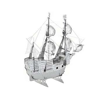 پازل فلزی سه بعدی - مدل  کشتی بادبانی BMK