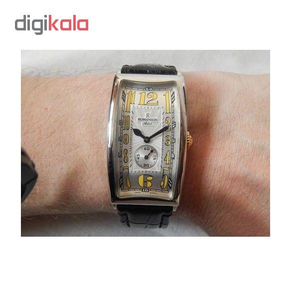 ساعت مچی عقربه ای مردانه رومانسون مدل TL4116JM