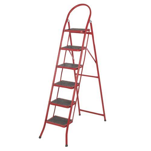 نردبان 6 پله قائم مدل 001