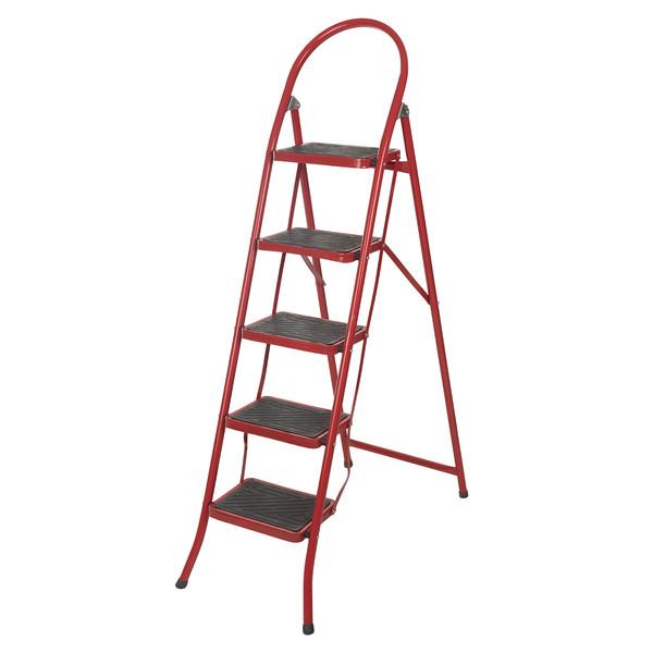 نردبان 5 پله قائم مدل 004