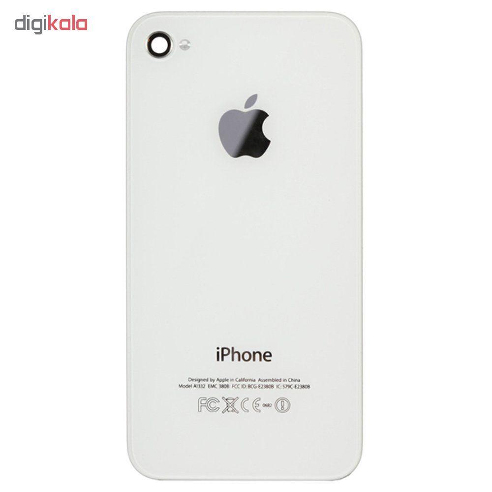 درب پشت گوشی مدل 4S مناسب برای گوشی موبایل آیفون iphone 4S main 1 1