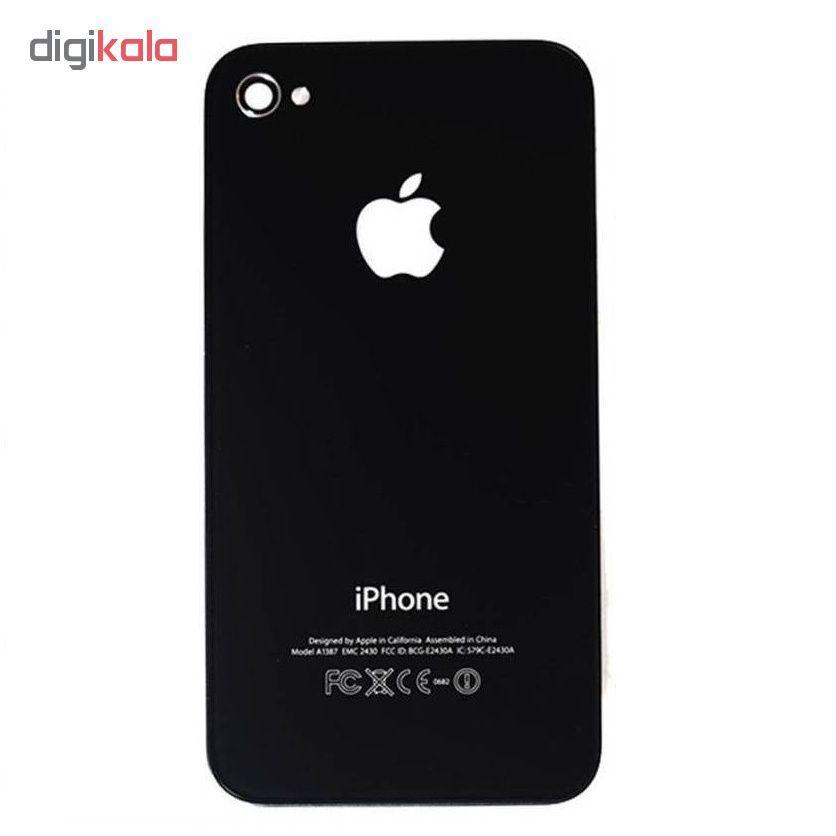 درب پشت گوشی مدل 4S مناسب برای گوشی موبایل آیفون iphone 4S main 1 2