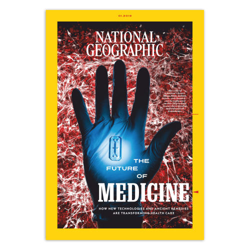 مجله National Geographic ژانویه 2019