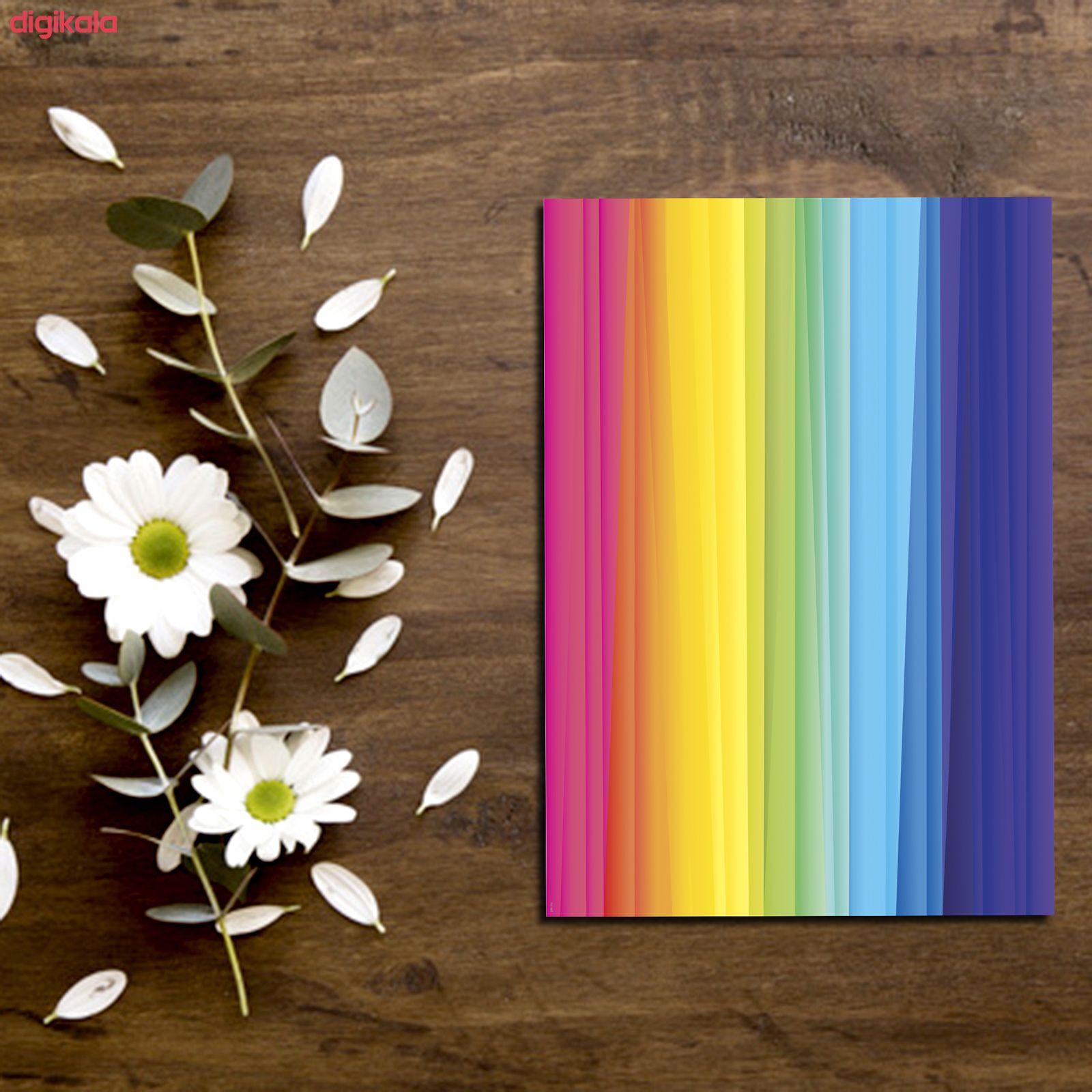 کاغذ رنگی A4 مستر راد مدل رنگارنگ بسته 10 عددی main 1 9