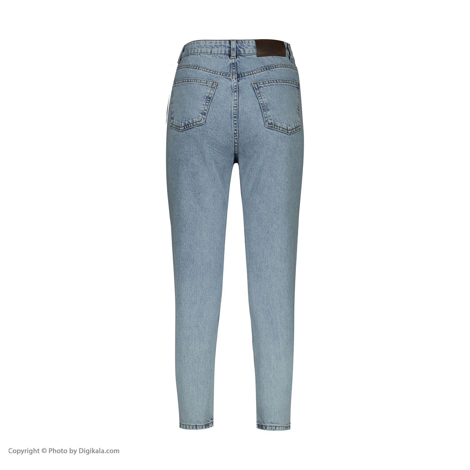 شلوار جین زنانه آر اِن اِس مدل 104128-50 -  - 4