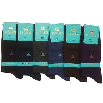 جوراب مردانه ال سون طرح اجیپت کد PH34 مجموعه 6 عددی