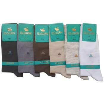 جوراب مردانه ال سون طرح اجیپت کد PH35 مجموعه 6 عددی