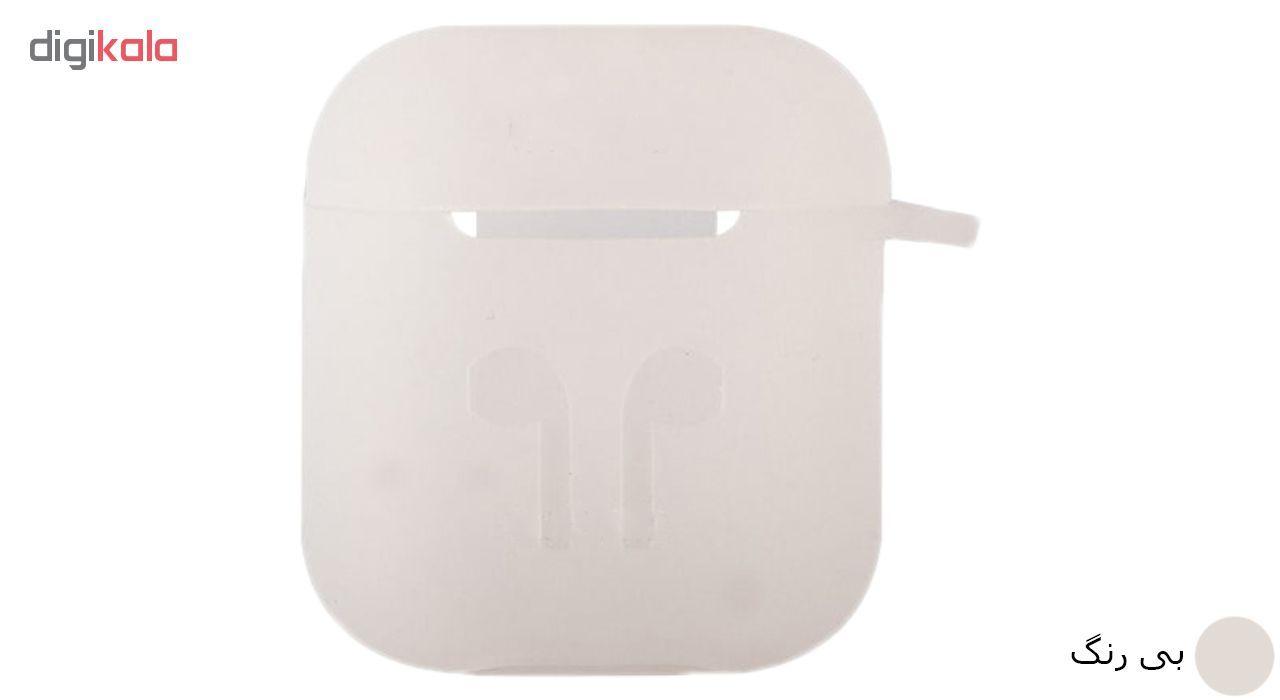 کاور محافظ سیلیکونی مدل A.JMEI مناسب برای کیس Apple AirPods main 1 8