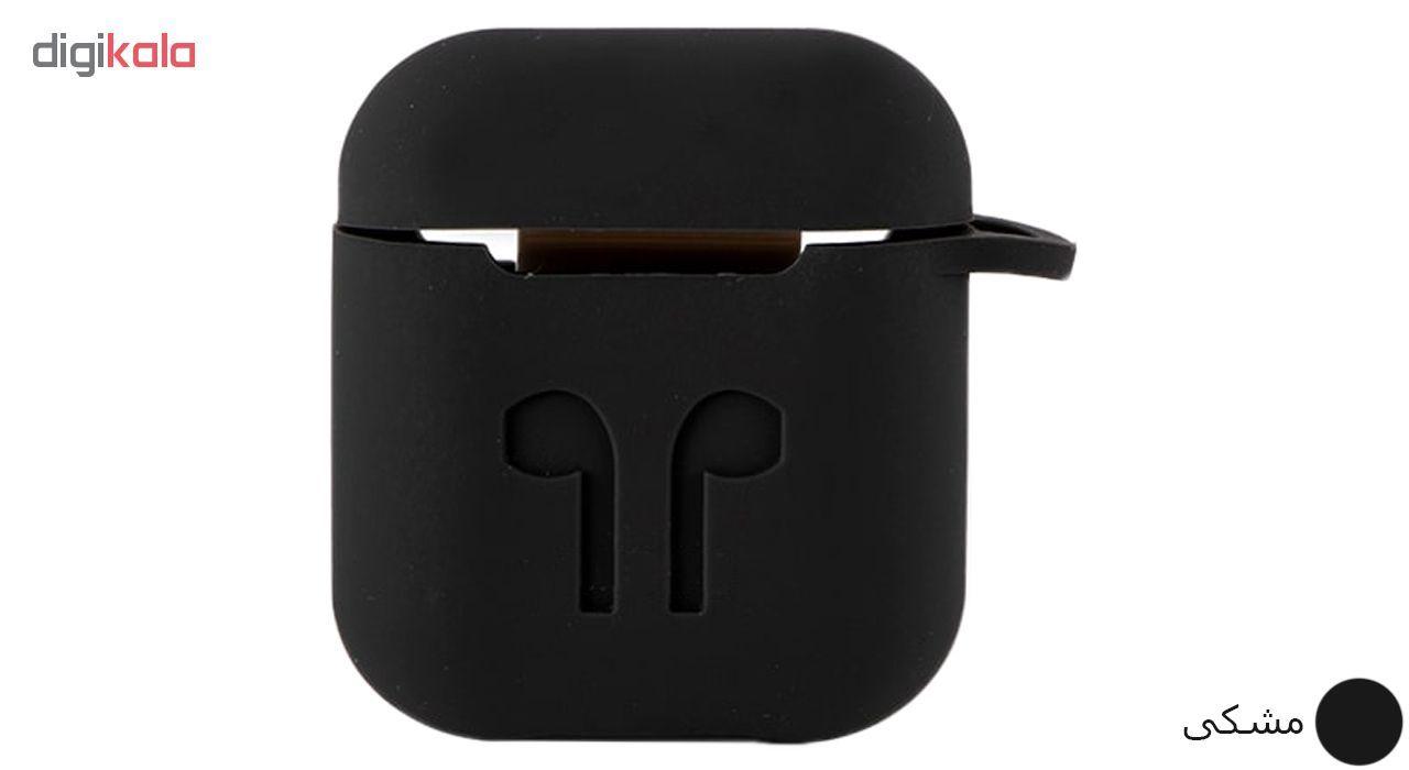 کاور محافظ سیلیکونی مدل A.JMEI مناسب برای کیس Apple AirPods main 1 2