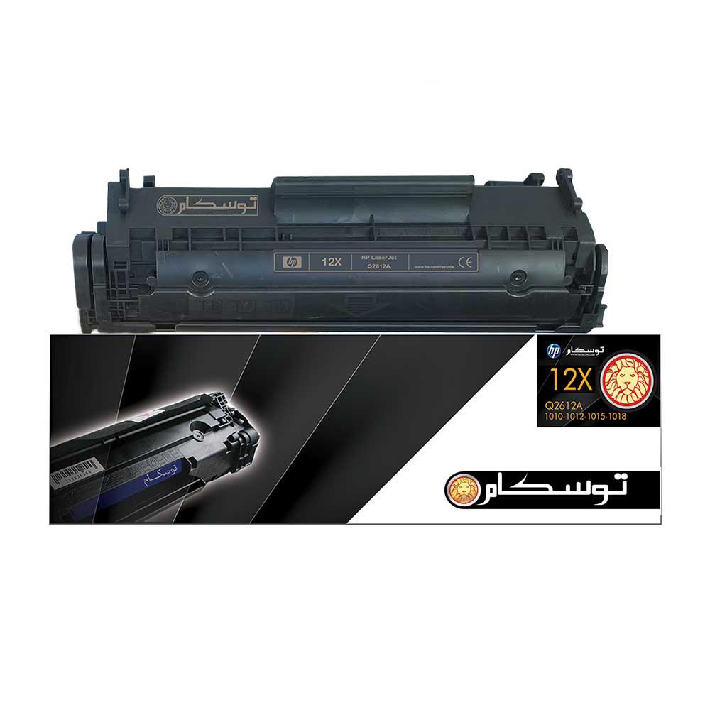 تونر مشکی توسکام مدل HP 12X