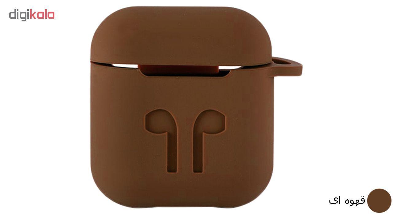 کاور محافظ سیلیکونی مدل A.JMEI مناسب برای کیس Apple AirPods main 1 13