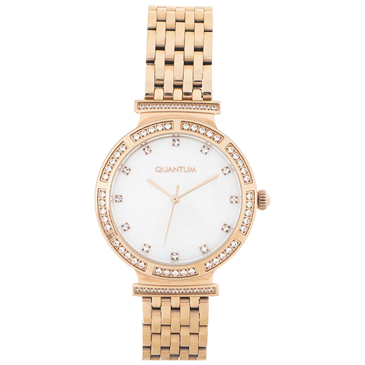 ساعت مچی عقربه ای زنانه کوانتوم مدل IML651.420