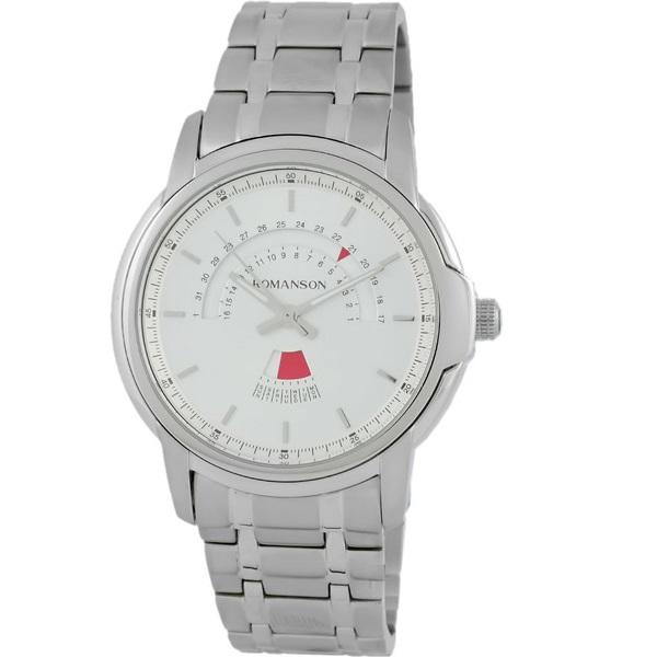 ساعت مچی عقربه ای مردانه رومانسون مدل TM6A21CMWWA1C4