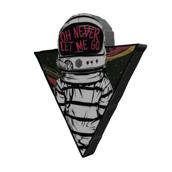 استیکر طرح فضانورد مدل Spaceman13