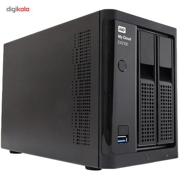 ذخیره ساز تحت شبکه 2Bay وسترن دیجیتال مدل My Cloud EX2100 بدون هارددیسک