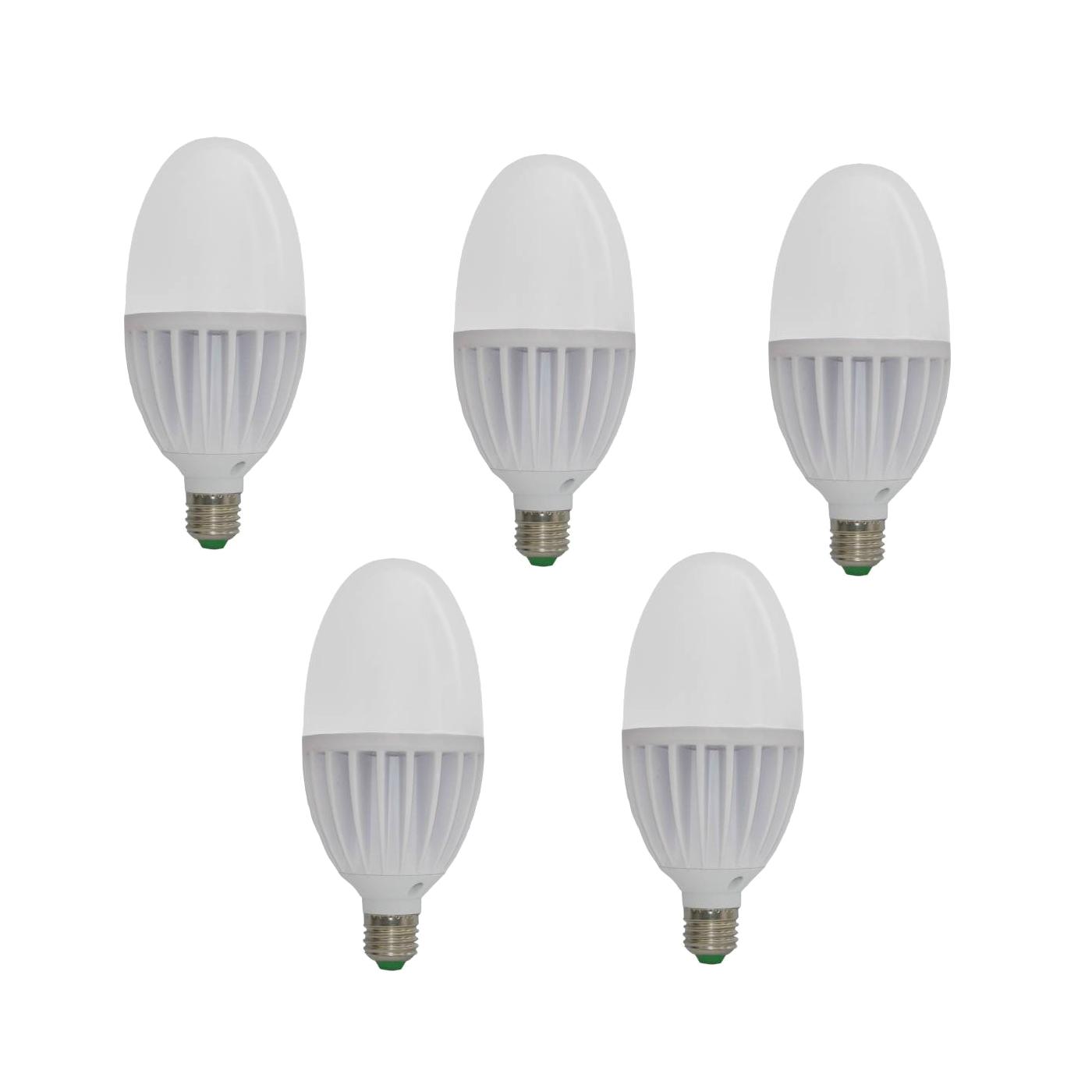 لامپ ال ای دی 5 وات نامین نور سرپیچ E14 مدل NL624C بسته ی 5 عددی