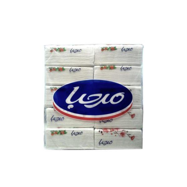 دستمال کاغذی مرحبا مدل 001 بسته 10 عددی