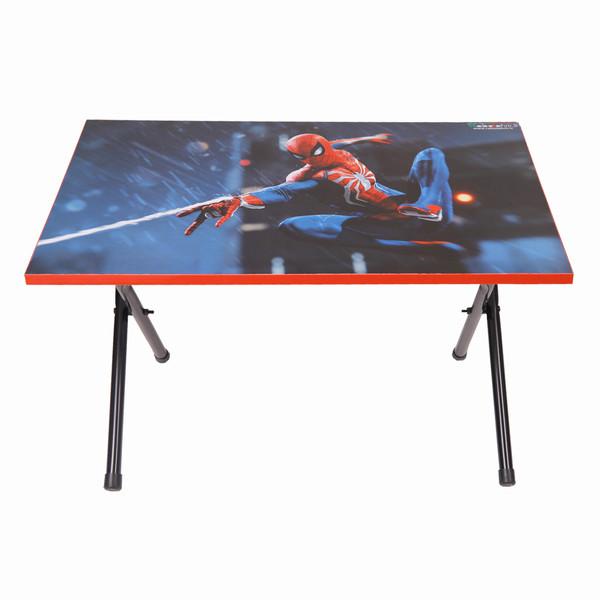میز تحریر پایه کوتاه طرح مرد عنکبوتی (وایت بردی،تاشو،تنظیم شونده ارتفاع)