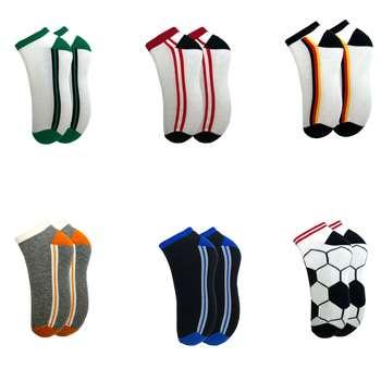جوراب مردانه آلمانی نوردای کد 4878088 مجموعه 6 جفتی