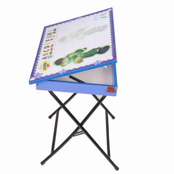 میز تحریر پایه بلند باکسدار طرح بن تن (وایت بردی،تاشو،تنظیم شونده ارتفاع)