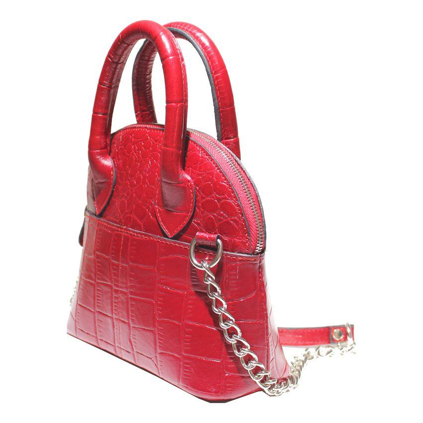کیف دوشی زنانه چرم آرا مدل d076 -  - 18