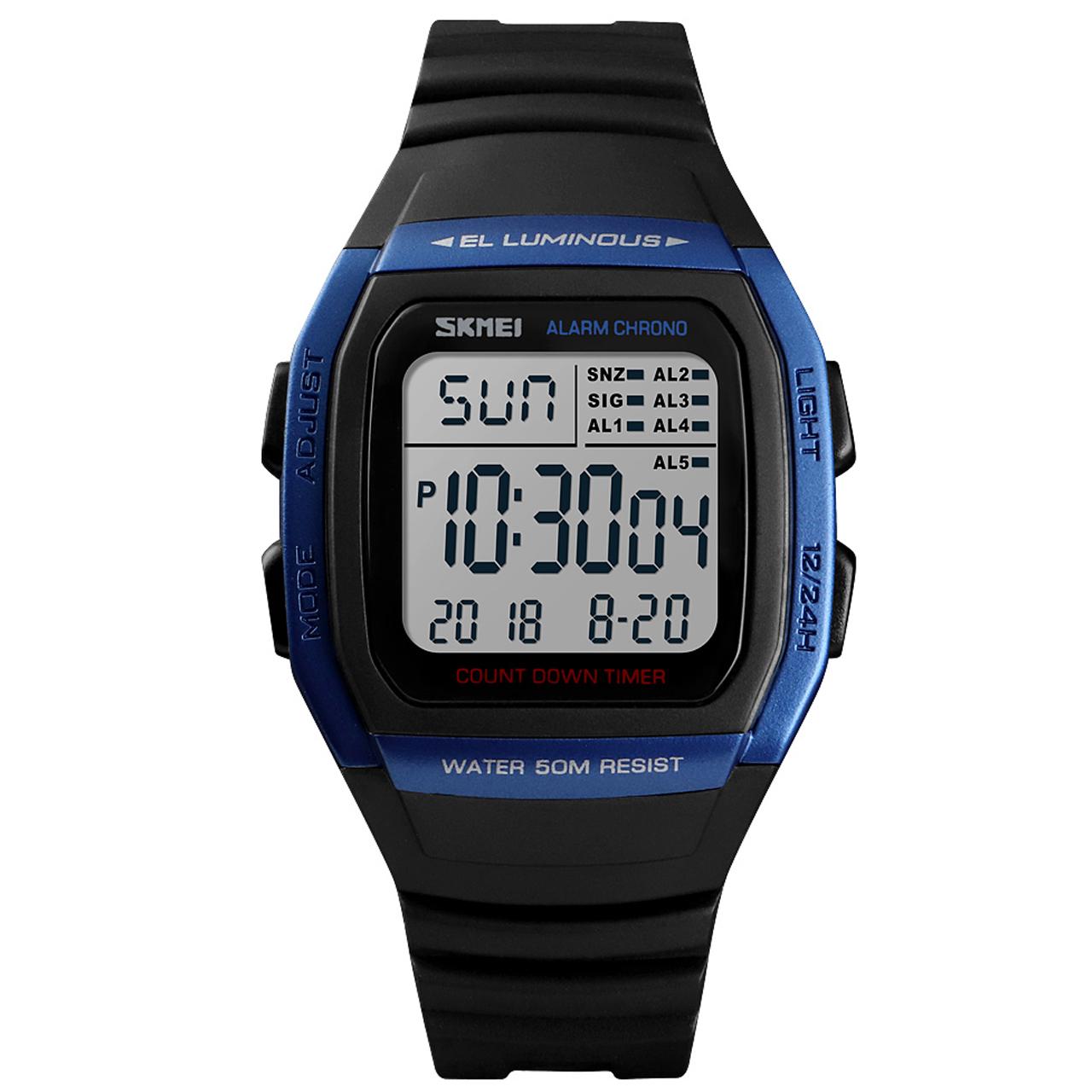ساعت مچی دیجیتالی اسکمی مدل 1278A