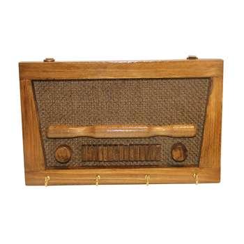 جاکلیدی دیواری طرح رادیو مدلCh97-1