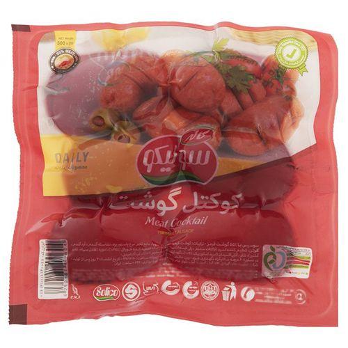 کوکتل گوشت سولیکو مقدار 300 گرم