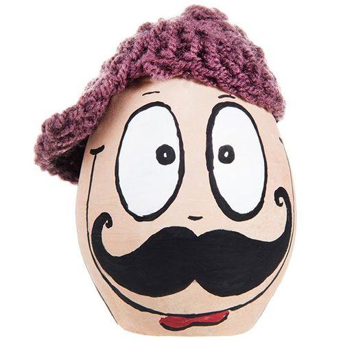 تخم مرغ رنگی هفت سین طرح عمو سیبیلو