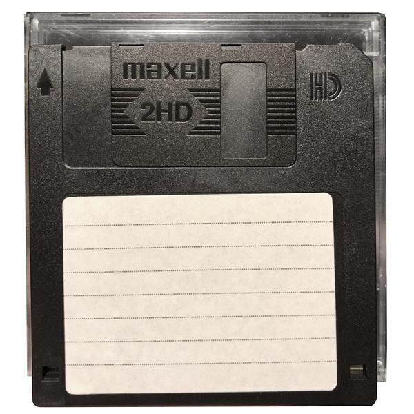 فلاپی دیسک قابدار مکسل مدل 2HD-1.44Mb