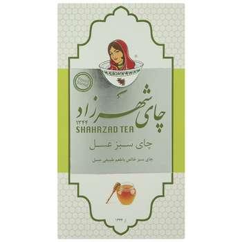 چای سبز عسل شهرزاد بسته 200 گرمی