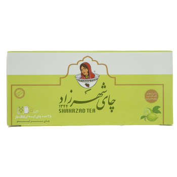 چای سبز لیمو کیسه ای شهرزاد 25 عددی